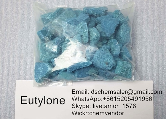 Stimulant Pure Research Chemical Eutylone / Eu Crystal มีฤทธิ์รุนแรง